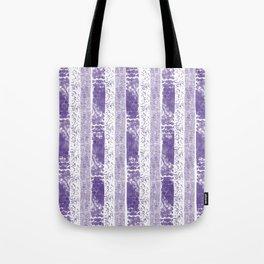 Lilac watercolor paint brushstrokes confetti stripes Tote Bag