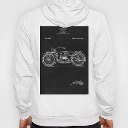 Motorcycle Blueprint 1919 Hoody