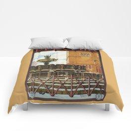 Travel Perugia and Fontana Maggiore Comforters