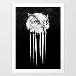Nightfalls Art Print