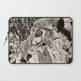 Entanglement (Untitled Face II) Laptop Sleeve