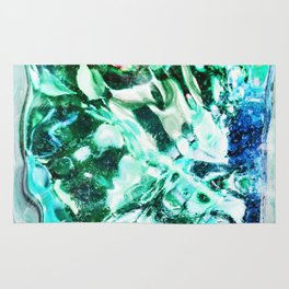 429 - Abstract glass design Rug