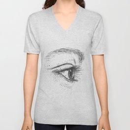 Eye yi yi Unisex V-Neck