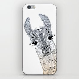 BABY LAMA (CRIA) iPhone Skin