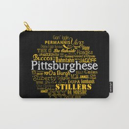 Pittsburghese Carry-All Pouch