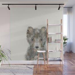 little wolf Wall Mural