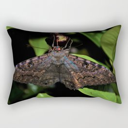 Night Moth Rectangular Pillow