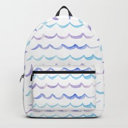 Life is Swell - Ombre Waves Backpack