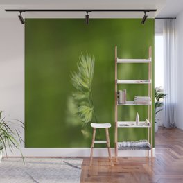 Green Plant Wall Mural