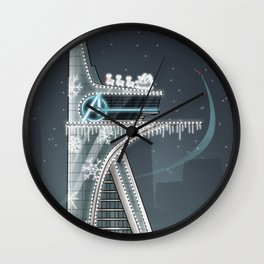 X-MAS BUT WITH MORE ME Wall Clock