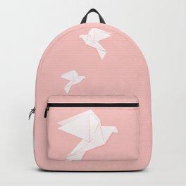 Origami dove Backpack