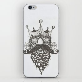 Stoned King iPhone Skin