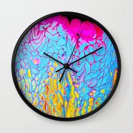 Candy Lava Wall Clock
