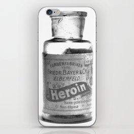 Vintage Heroin Medicine Bottle iPhone Skin