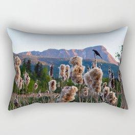 Birdsong on the Marina Rectangular Pillow