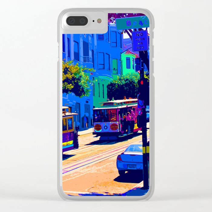 San Francisco 002 Clear iPhone Case