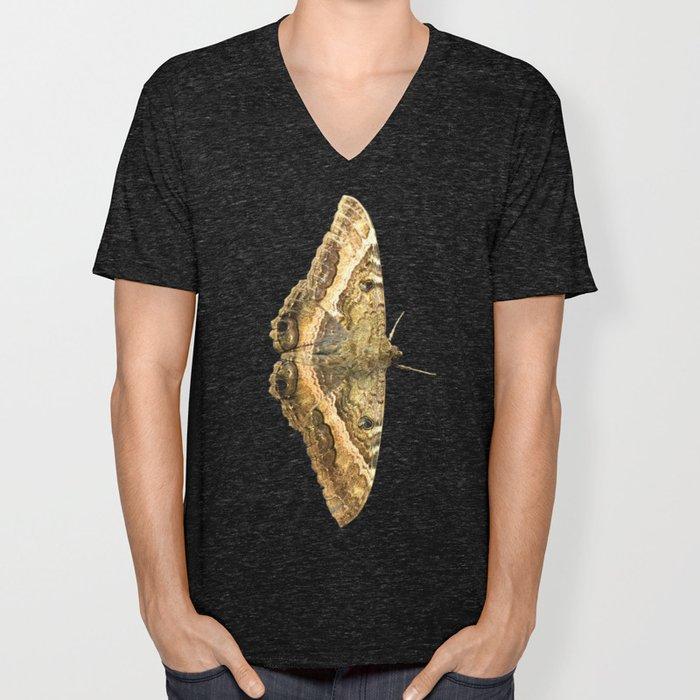Black Witch Moth Unisex V-Neck