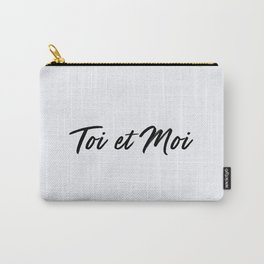 67. You and Me Carry-All Pouch