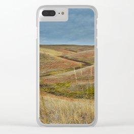 October in Grasslands National Park Clear iPhone Case