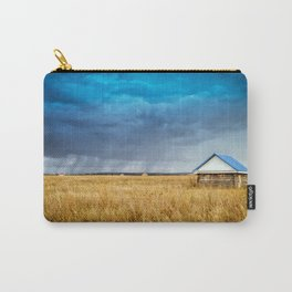 Hut and Rain Carry-All Pouch