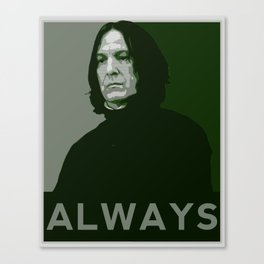 Severus Snape Always Canvas Print