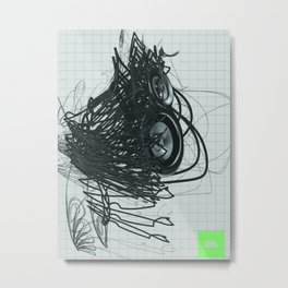 Abstruction Metal Print