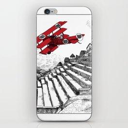 asc 114 - Le Baron Rouge & son ours Darwin (La montagne où tombent les étoiles) iPhone Skin