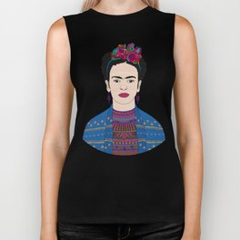 Frida Kahlo Biker Tank