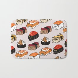Sushi Persian Cat Bath Mat