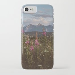 Mountain vibes - Landscape and Nature Photography iPhone Case
