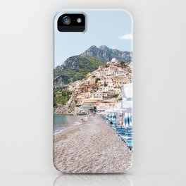 Amalfi Coast Beach iPhone Case