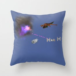 War Stars: Collusion Throw Pillow