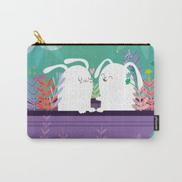 Bunnies in love Carry-All Pouch
