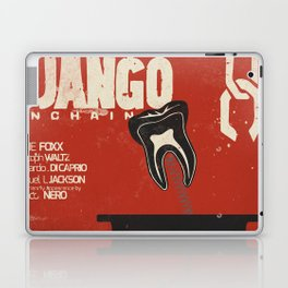 Django Unchained, Quentin Tarantino, alternative movie poster, Leonardo DiCaprio, Jamie Foxx Laptop & iPad Skin