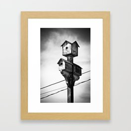 Canadian Outdoors Framed Art Print