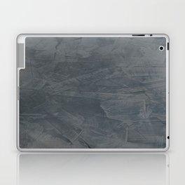 Slate Gray Stucco - Faux Finishes - Rustic Glam - Venetian Plaster Laptop & iPad Skin