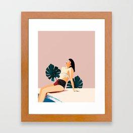 Sunday Framed Art Print
