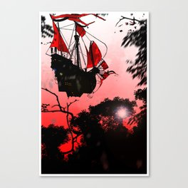 RED SAILS - GMB CHOMICHUK Canvas Print
