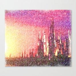 Alteran sunset Canvas Print