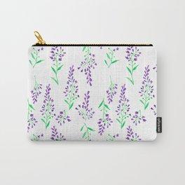Purple Delphinium Carry-All Pouch