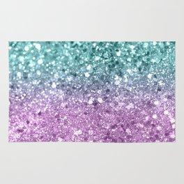 Mermaid Girls Glitter #6 #shiny #decor #art #society6 Rug