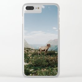 Bighorn Overlook Clear iPhone Case