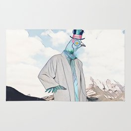 Mr. Pigeon Rug