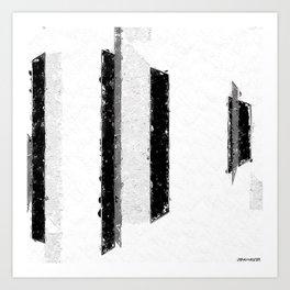 Metrics Art Print