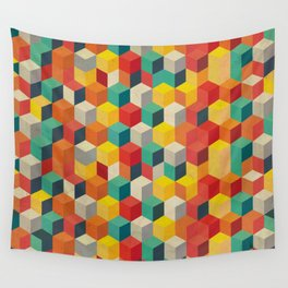 Rubicube Wall Tapestry