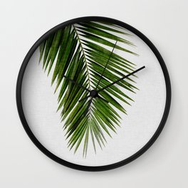 Palm Leaf I Wall Clock