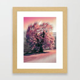 The tree of spring Framed Art Print