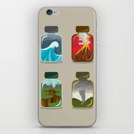 Disaster In A Jar iPhone Skin