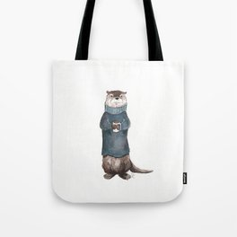 Wesley the River Otter Tote Bag