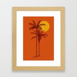 buenas tardes Framed Art Print